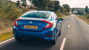 Honda Civic review - rear