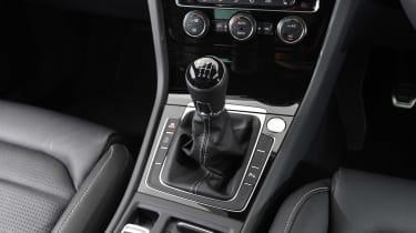 VW Golf - gearshift