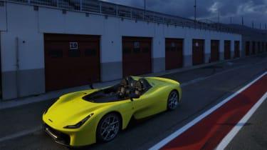 Dallara Stradale - pits