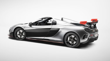 McLaren MSO R coupe - side