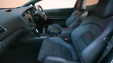 Kia Proceed GT front Recaro sports seats
