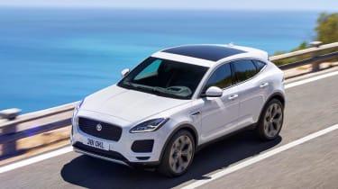 Jaguar E-Pace - white top
