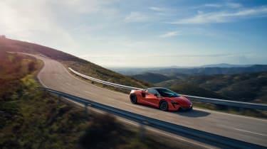 McLaren Artura revealed - orange pan
