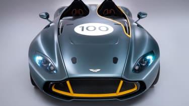 Aston Martin CC100 speedster concept racing green