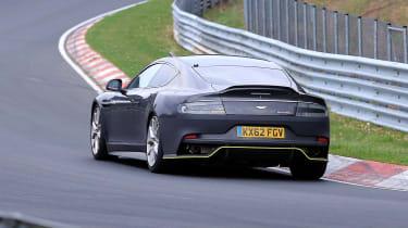 Aston Martin Rapide AMR spy - rear