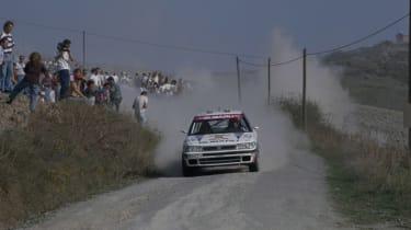 91 legacy WRC car