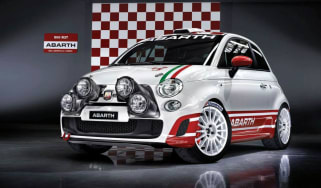 Abarth 500 rally car
