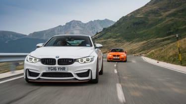BMW M3 & M4 GTS - driving