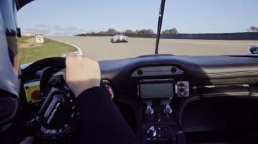 Dallara Stradale - driving