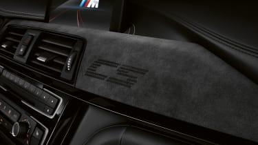 BMW M3 CS  – dash close-up