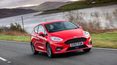 Ford Fiesta mk8 ST Line – front