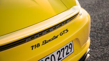 Porsche 718 Boxster GTS – rear wing
