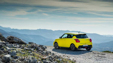 Suzuki Swift Sport – rear quarter