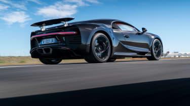Bugatti Chiron - rear three quarter