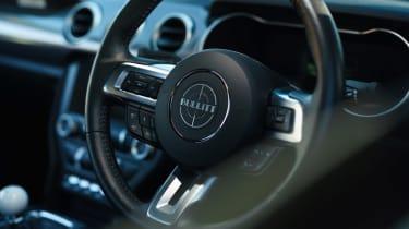 Ford Mustang Steve McQueen Bullitt Edition – steering wheel
