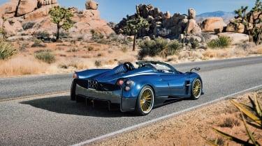 Huayra roadster rear