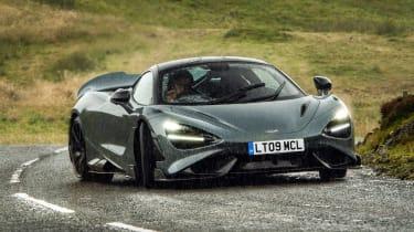 McLaren 765LT – cornering