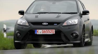 Ford Focus RS500 corner