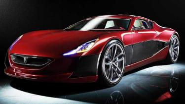 Rimac Concept One electric supercar