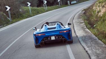 Dallara Stradale - rear