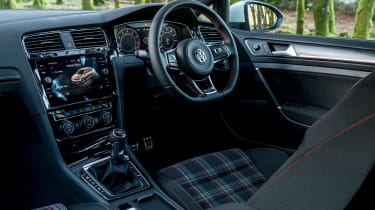 Hyundai i30N group test (Golf GTI and Peugeot 308 GTI) - interior
