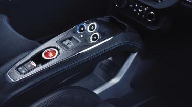 Alpine A110 - centre console