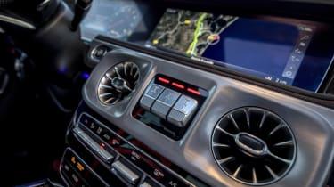 Mercedes-AMG G63 dashboard detail