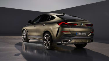 New BMW X6 rear