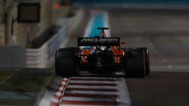 F1 Round 20 - Mclaren 2