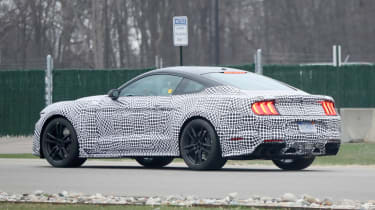 Ford Mustang Shelby GT500 in testing – rear quarter