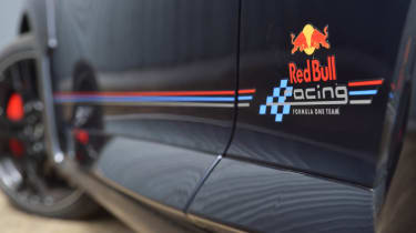 Renault Megane Red Bull RB8 Racing decal sill
