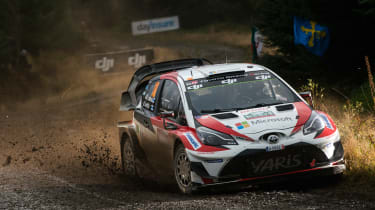 WRC Rally Wales - Toyota