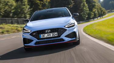2020 Hyundai i30 N – tracking