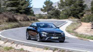 Mercedes-AMG CLS 53 - turn in