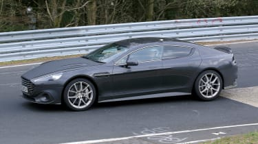 Aston Martin Rapide AMR spy - side