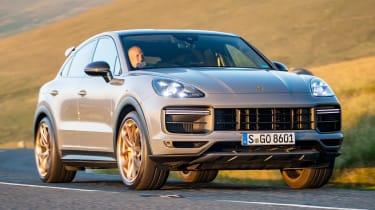 Porsche Cayenne Coupe Turbo GT – front corner