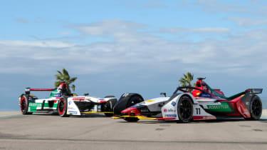 Audi Formula E gen 1 vs Gen 2Audi Formula E gen 1 vs Gen 2