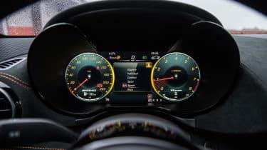 Mercedes-AMG GT Black Series - dials