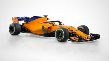 McLaren 2018 F1 car - front quarter