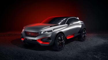 Peugeot Quartz concept: Paris motor show 2014