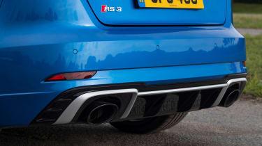 Audi RS3 Sportback - rear diffuser