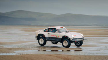Singer Vehicle Design ACS - beach jump