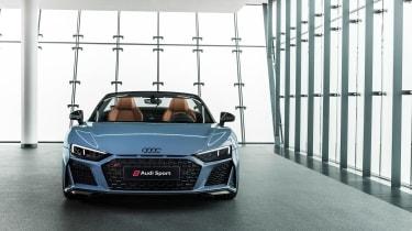Audi R8 Spyder facelift - nose