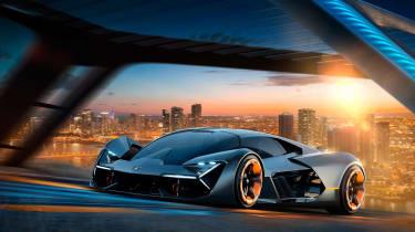 Lamborghini Terzo Millennio - gen front