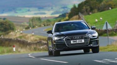 Audi A6 Estate S-Line - front