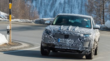 Jag E-Pace spy in france