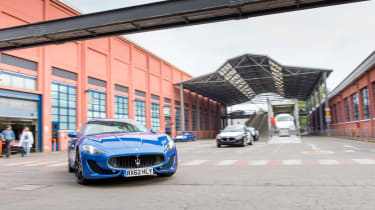 evo January 2013 Maserati GranTurismo Sport