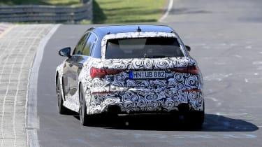Audi RS3 mule 2020 – rear