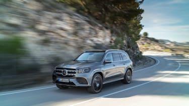 Mercedes GLS - front quarter