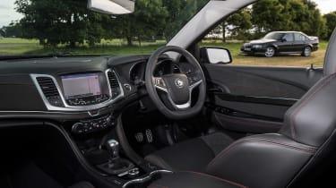 VXR8 GTS-R vs Carlton - interior